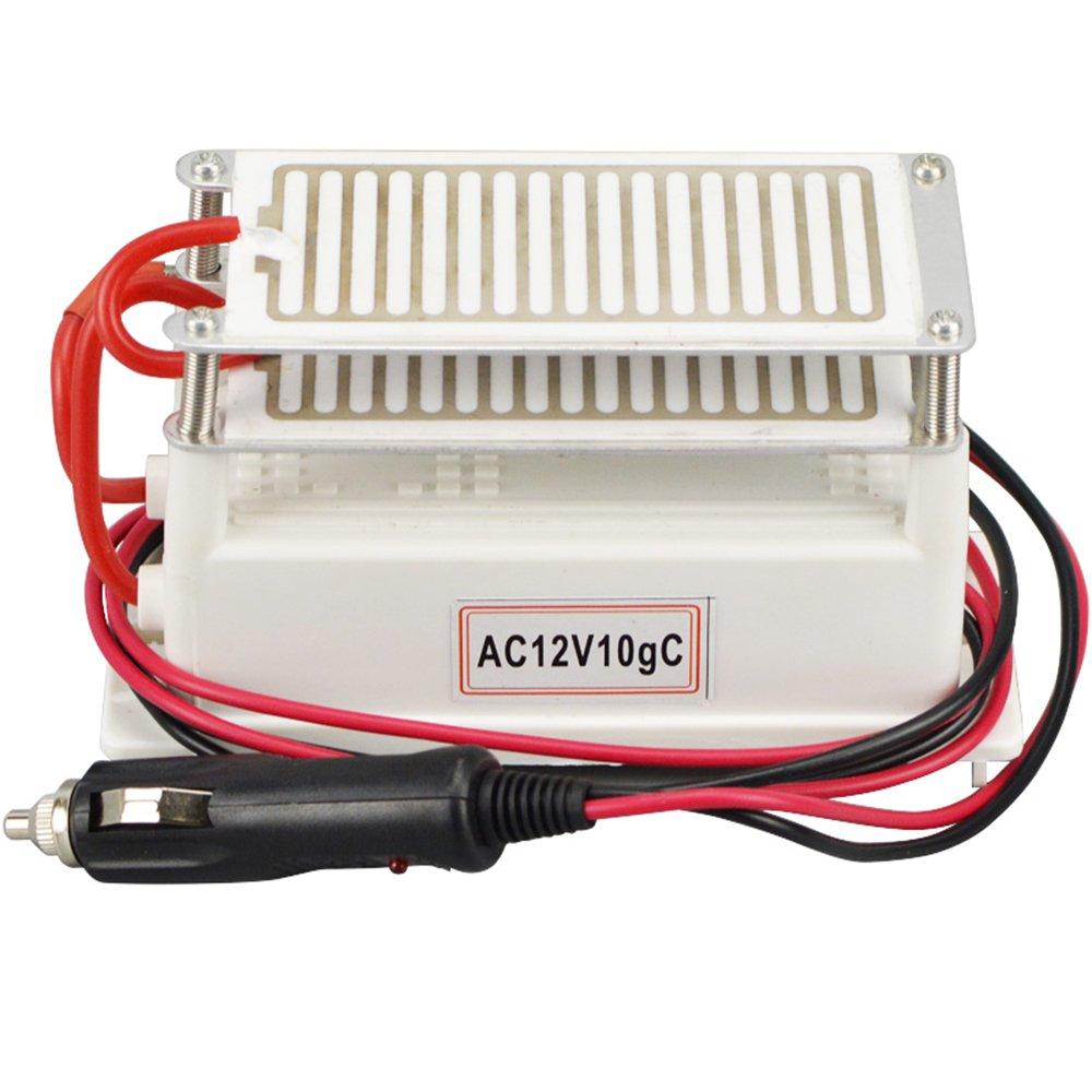 ATWFS 10,000 mg/h Portable Ozone Generator 12v Car Air Purifier ...