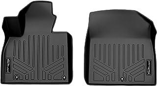 SMARTLINER All Weather Custom Fit Black 1st Row Floor Mat Liner Set Compatible With 2020-2022 Kia Telluride
