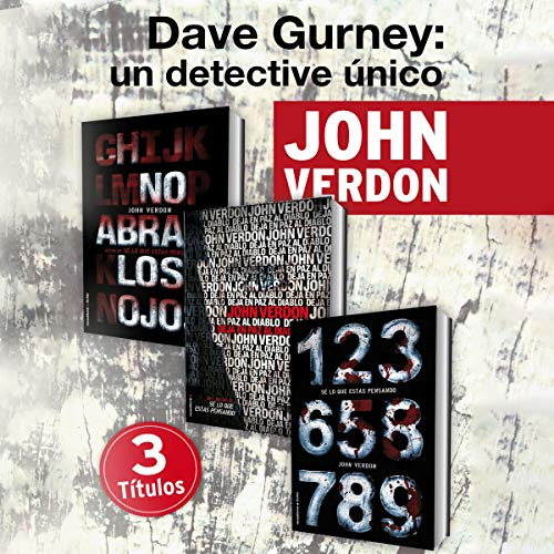 Pack David Gurney (Narración en Castellano) [Castilian Spanish Editon] cover art