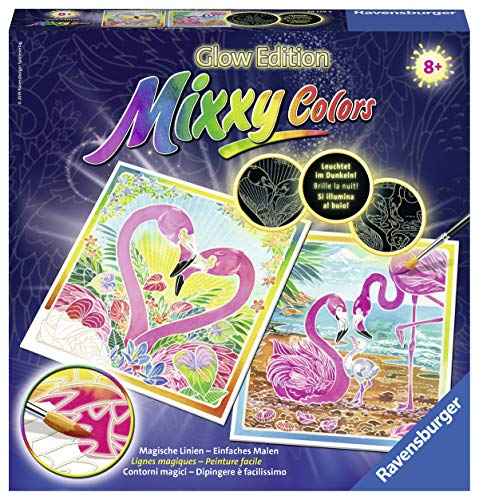 Ravensburger Mixxy Colors 29129 - Traumhafte Flamingos