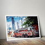Chicago Fire Dept. - Poster (A1 - 59,4 cm x 84,1 cm)