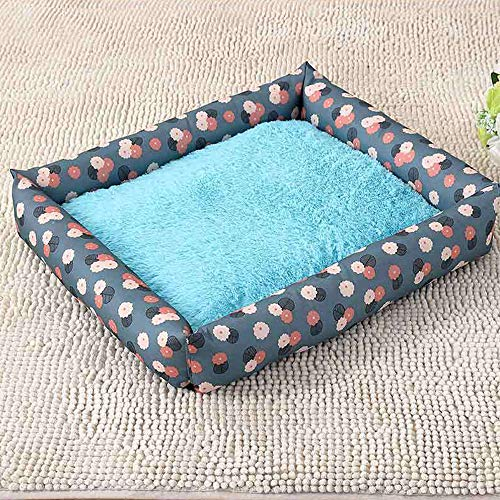 Dog Bed, Super Soft Pet Sofa Cats Bed, Non Slip Bottom Pet Lounger,Self Warming And Breathable Pet Bed Premium Bedding Deluxe Soft Washable Dog Pet Warm Basket Bed Cushion