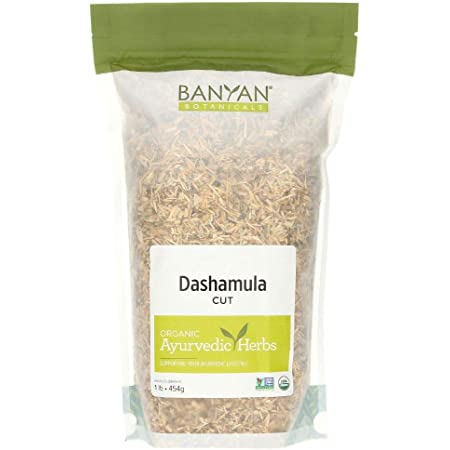 Banyan Botanicals Dashamula Whole - Certified Organic, 1/2 Pound - A Traditional Ayurvedic Formula for pacifying vata and Supporting Proper Function of The Nervous System*