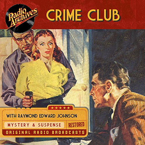 Crime Club audiobook cover art