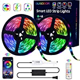 GUSODOR LED Strip Lights RGB Strips...