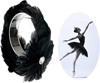 Best black swan feather headpiece Reviews