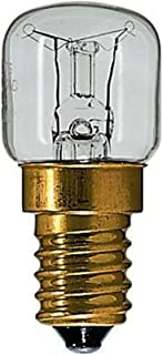 Osram Ofenlampe, 15 W, SES, E14, bis 300 Grad, 2 Stück