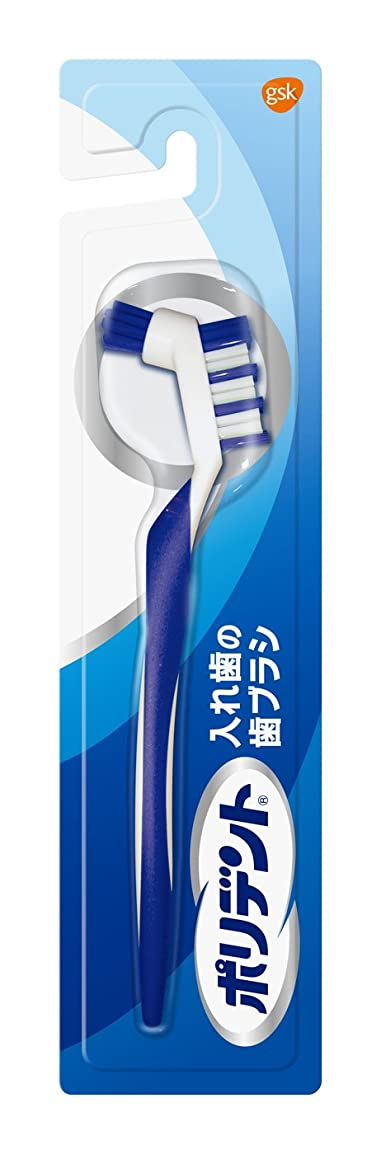 形容詞急勾配の呼び起こすポリデント入れ歯の歯ブラシ 1本
