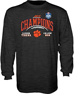 2018 NCAA Conference Champs Laces - Charcoal Longsleeve Tshirt