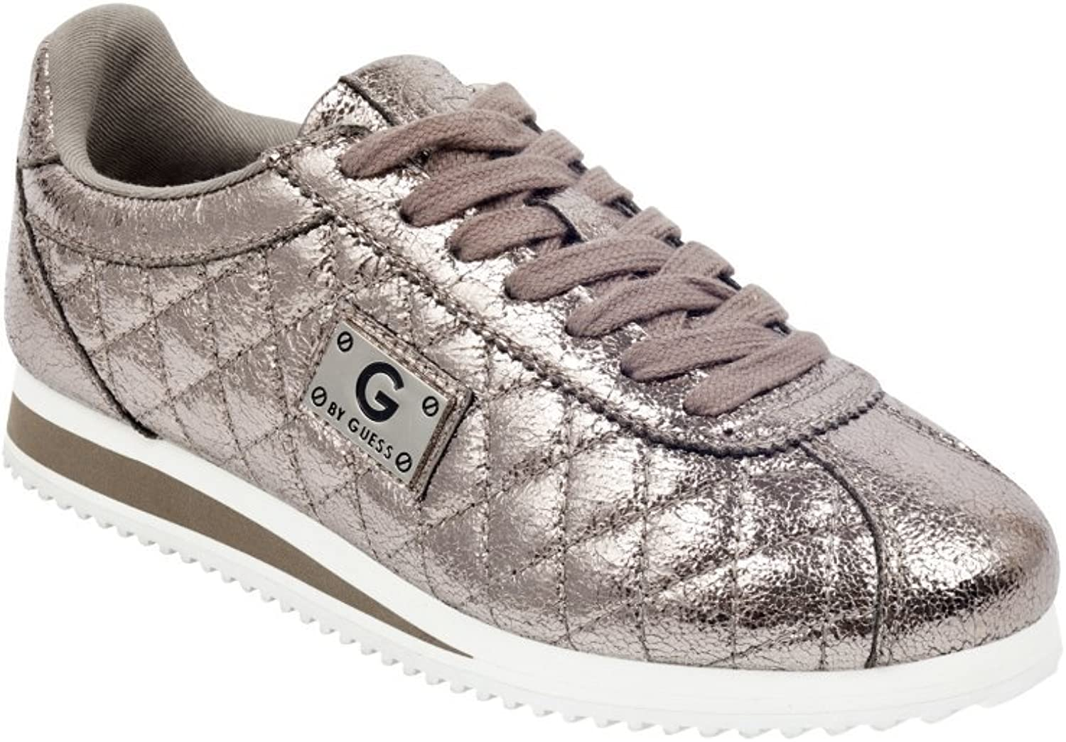 G by Guess Women's Romio Metallic Quilted Sneakers