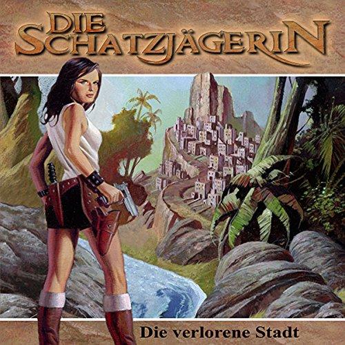 Die verlorene Stadt audiobook cover art