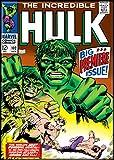 Ata-Boy Marvel Comics The Incredible Hulk No. 102 2.5' x 3.5' Magnet for Refrigerators and Lockers