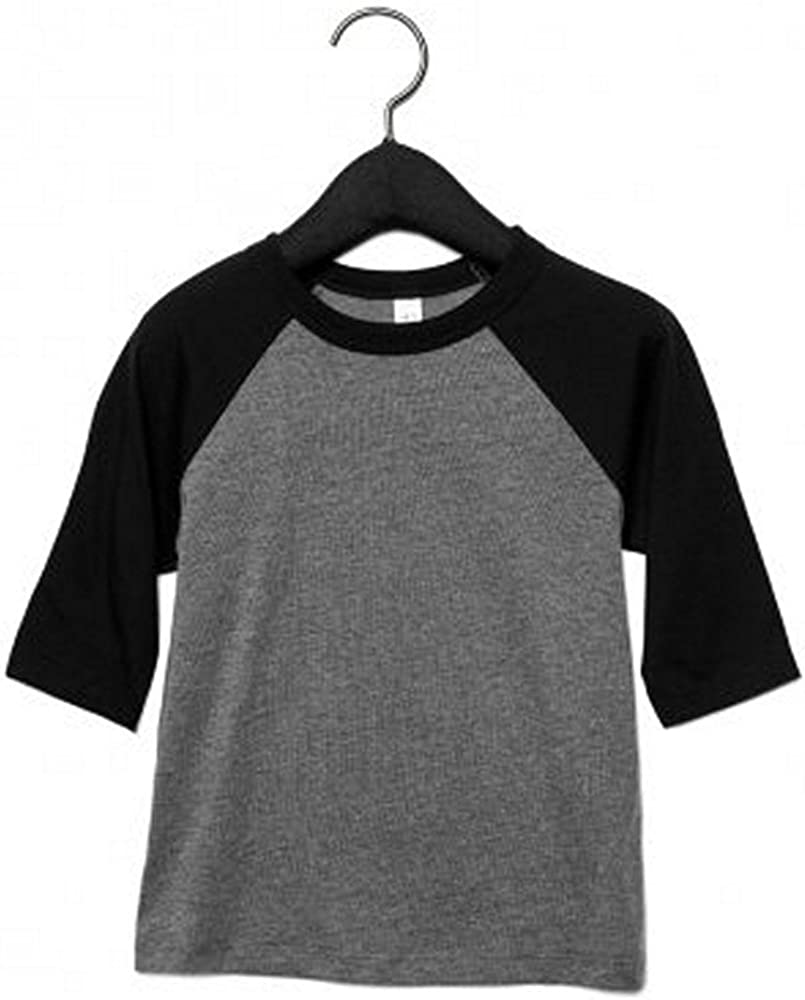 Bella Canvas 3/4-Sleeve Baseball T-Shirt (3200T)