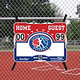 ScoreSign Little League Baseball Portable Scoreboard
