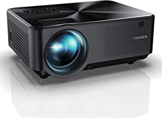 """YABER Y60 Portable Projector with 6000 Lumen Upgrade Full HD 1080P 200"""" Display Supported, LCD LED Home & Outdoor Projecto..."""