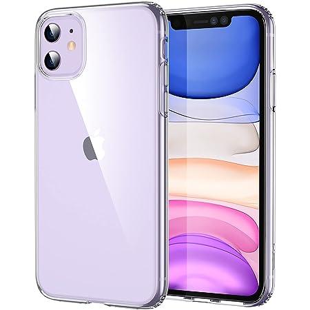 ESR Coque Compatible avec iPhone 11, Bumper Housse Etui de Protection Transparent en Silicone TPU Souple Ultra Fin, Transparent.