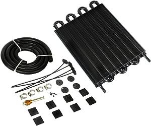 Universal Row Car Oil Cooler Transmission Accessories Fin Aluminum Engine Oil Cooler Radiator