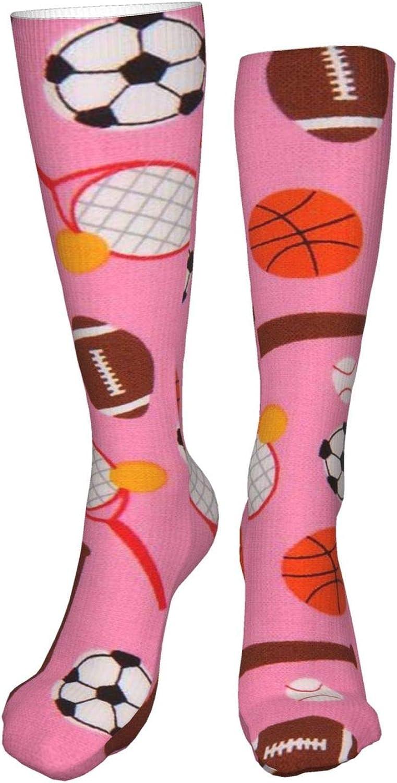 Soccer Women Premium High Socks, Stocking High Leg Warmer Sockings Crew Sock For Daily And Work