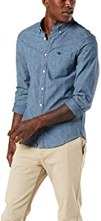 Dockers Men's Supreme Flex Alpha Icon Woven Shirt