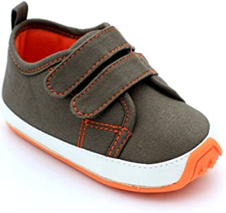 Baby Boys Girls Cotton Rubber Sole Outdoor Sneaker First Walkers Shoes