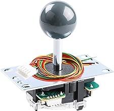 Sanwa JLF-TP-8YT-SK OEM Grey Ball Handle Arcade Joystick 4 & 8 Way Adjustable (Mad Catz SF4 Tournament Joystick Compatible)