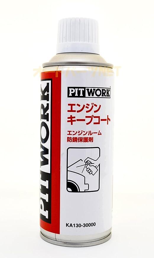 適用する葉を拾う矛盾するPITWORK(ピットワーク) エンジンルーム防錆保護剤 エンジンキープコート 300ml KA130-30000