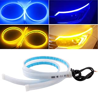 EverBright Led Strip Lights for Cars, Led Headlight Strip for Daytime Running Lights Turn Signal Bulb DRL Sepuential Switc...