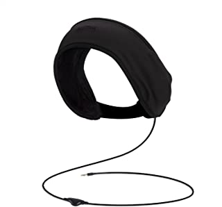 AGPTEK Sleep Headphones,Headband Soft Lycra Mesh Lining with Volume Control and Bag for Sleeping, Sports, Air Travel, Snoring, Insomnia, Meditation & Relaxation, Black