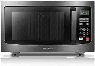 Toshiba EM131A5C-BS Microwave Oven with Smart Sensor Easy Clean Interior, ECO Mode and..
