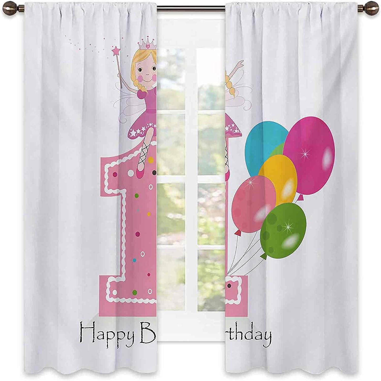 90% Fashionable Blackout 1st Birthday San Antonio Mall Curtains Party Fairy Theme w Princess