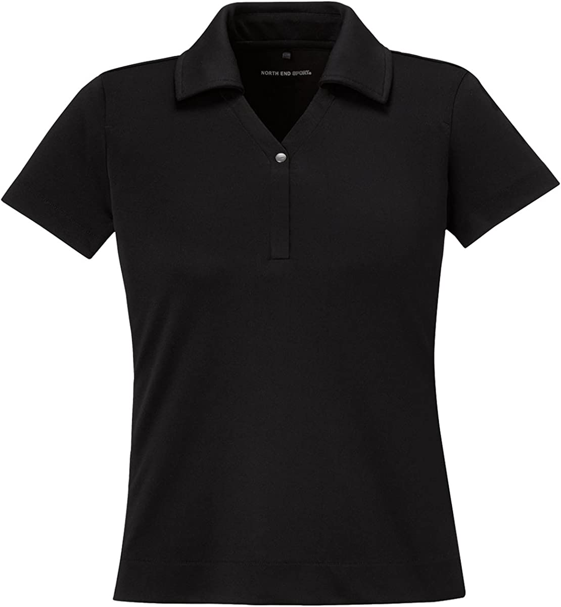 Ash City - North End Sport Red North End Sport Ladies Evap Quick Dry Performance Polo, XL, Black 703