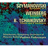 Symphony No. 3 Symphony No. 6 Theme & 8 Variations