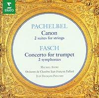 Pachelbel: Canon / Fasch: Concerto for trumpet by Jean-Franテァois Paillard (1995-02-07)
