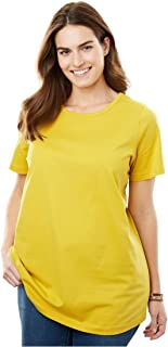 80f3b190def Woman Within Plus Size Perfect Crewneck Tee