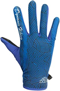 Gnzoe Gloves, Cycling Fitness Sport Gloves Full Finger Unisex Microfiber Spring Summer Gloves Army Green Medium