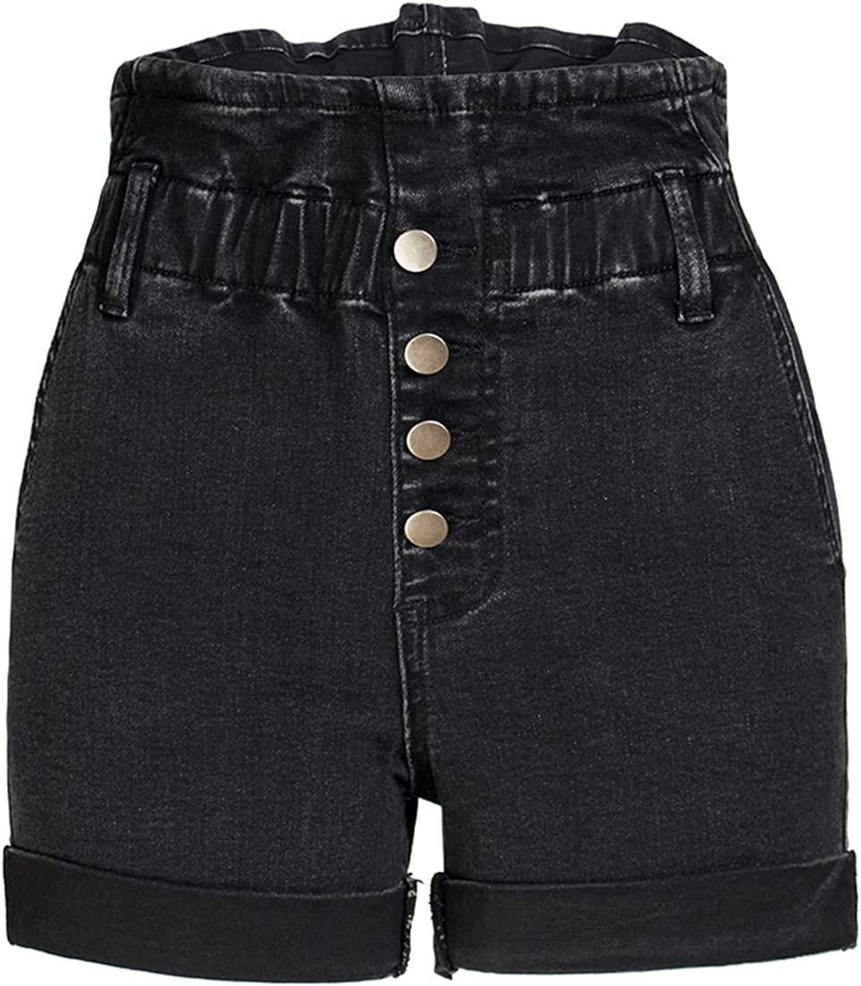 SBCDY Women's SEAL limited product Destroyed Ripped Hole Shorts Denim Short 1 year warranty Jean Sexy