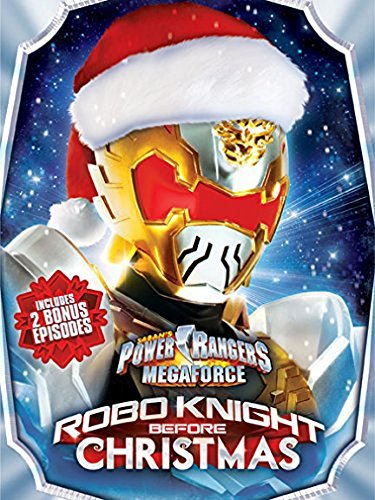 Power Rangers: Megaforce Robo Knight Before Christmas [DVD + Digital] by Andrew M. Gray