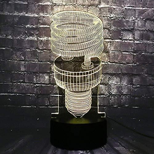 Haili Luces Decorativas/Diodo Ilusión en Miniatura de la lámpara del sueño del bebé...