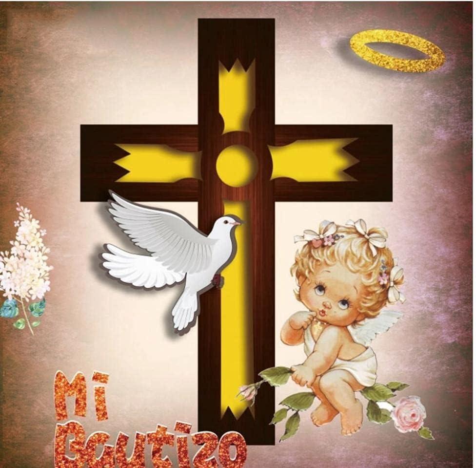 Neevop 7X5Ft Vinyl Mi Regular Max 89% OFF store Bautizo My Newborn Boy Baptism Baby Shower