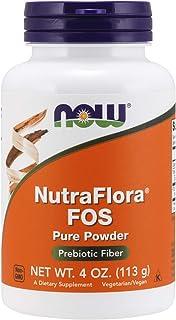 NOW Supplements, NutraFlora FOS, Prebiotic Fiber, 4-Ounce