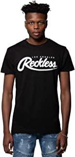 Young and Reckless - Big R Script Tee - Black - - Mens - Tops - Graphic Tee -