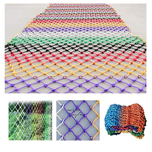 Read About Zjnhl Home Protection net Kindergarten Color Decorative Net Balcony Window Protective Net...