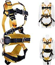 Arnês de construção de segurança de proteção de outono industrial com arnês laterais em D, confortável na cintura e acolch...