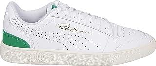 Luxury Fashion | Puma Men 37239501 White Leather Sneakers | Spring-summer 20