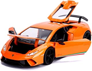 Jada 99355-MJ 1:24 Hyper-Spec-Lamborghini Huracan Performante Orange Die Cast Vehicle