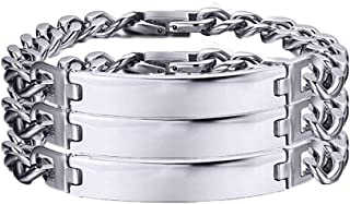 VNOX Customize 12MM/6.5MM Stainless Steel Link Chain...