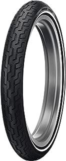 DUNLOP Harley Davidson D402 Whitewall Front Tire (Medium Whitewall / MH90-21)