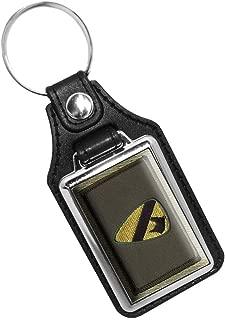 Brotherhood US Army CID Agent Emblem Keychain Key Holder Key Ring for Men Heavy Duty Car Keyring for Men and Women