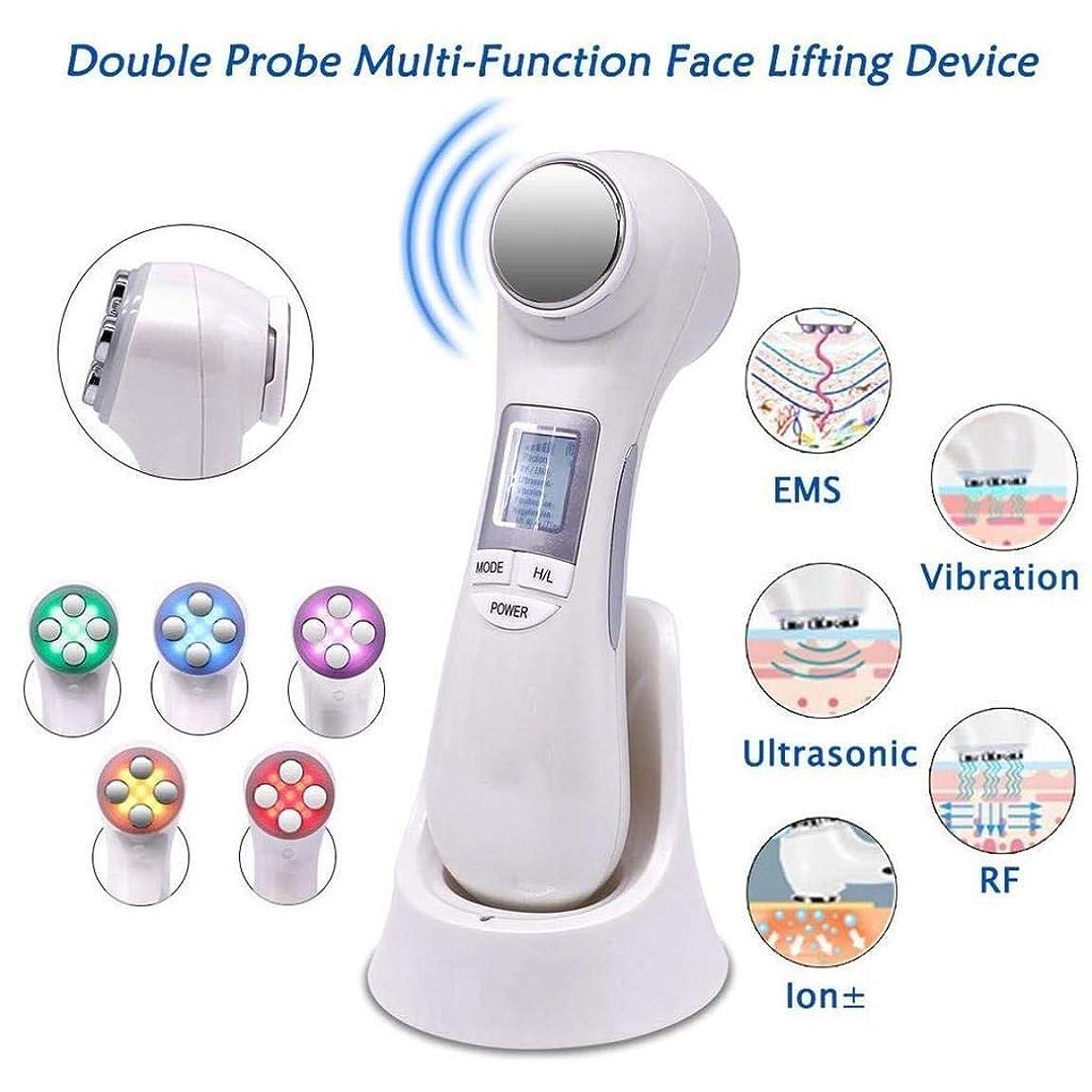 RF美容デバイス、無線周波数フェイシャルLEDフォトンスキンケアマシン、フェイスリフティングを締め、目のしわを防ぐ