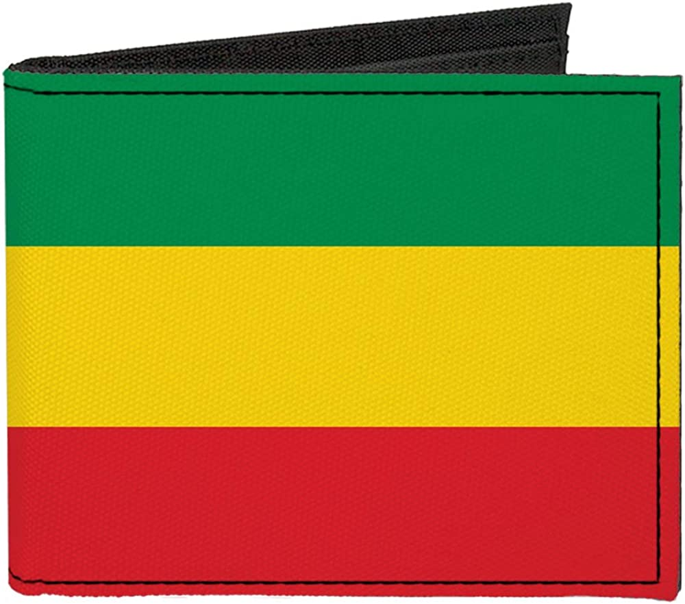 All stores are sold Buckle-Down Max 42% OFF Men's Standard Canvas Bifold 3. Rasta x Wallet 4.0
